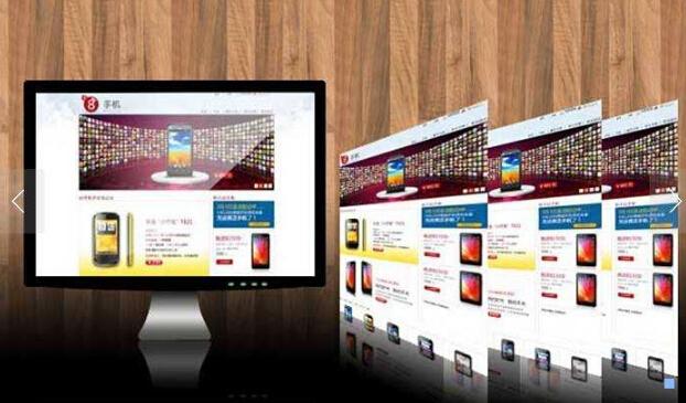 企业展示型万博体育iOS建设的布局类型