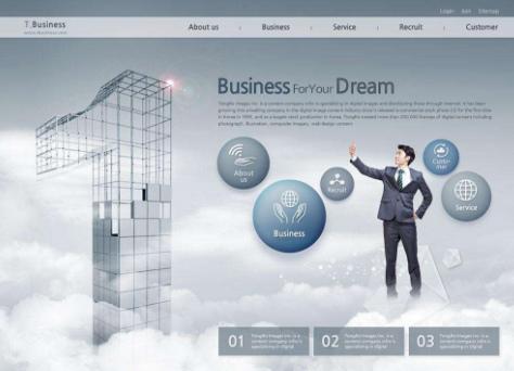 企业设计网页需要考虑哪些事项?